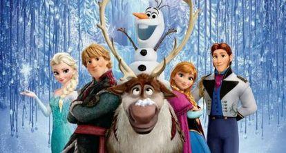 Frozen - Uma Aventura Congelante, favorito ao Oscar de melhor canção.