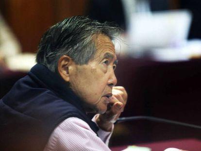 O ex-presidente peruano Alberto Fujimori, em uma foto de arquivo.