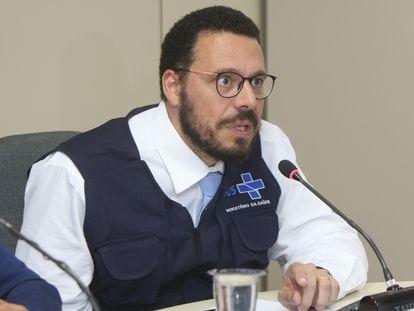 O médico infectologista Julio Croda, em 14 de fevereiro deste ano.