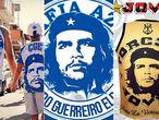 Torcidas de Cruzeiro e Flamengo usam Che Guevara como símbolo.
