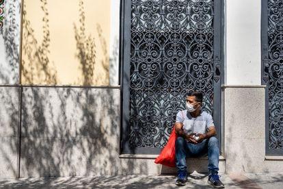 Jocelino Silva vive já há mais de 5 meses nas ruas de São Paulo.