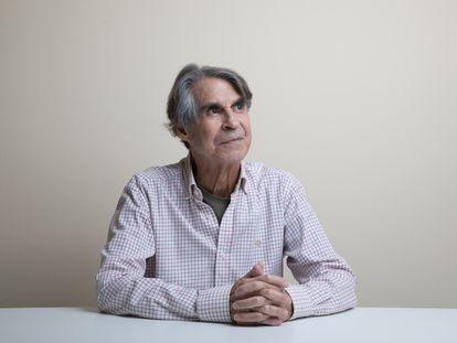 Roberto Batista, em sua casa de Madri, na última sexta-feira.