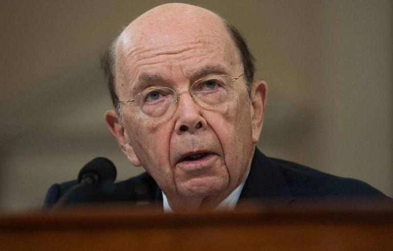 O secretário de Comércio dos EUA, Wilbur Ross, em uma audiência no Congresso no dia 22 de março.