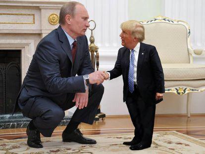 Tiny Trumps, o meme do 'mini' presidente dos EUA