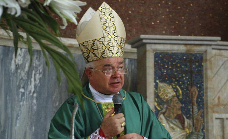 O sacerdote Josef Wesolowski, em 2009 em Santo Domingo.