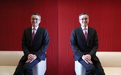 Milton Cheng no escritório da Baker McKenzie em Hong Kong, em 2017.