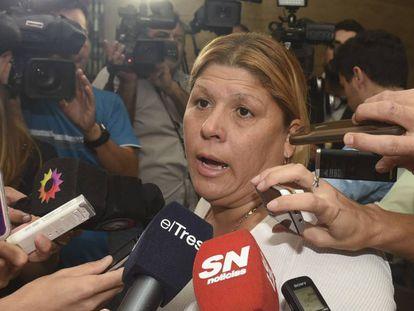 Lorena Verdún, em uma foto em março deste ano.