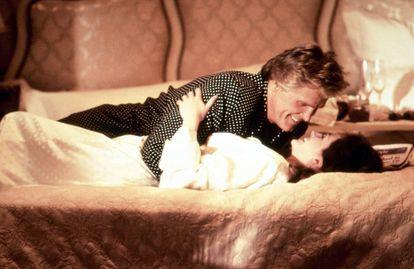 Nick Nolte e Julia Roberts no filme 'Adoro Problemas'.