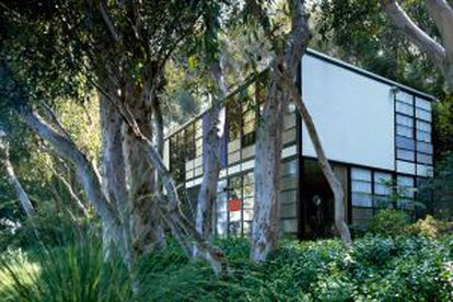 Estúdio de Charles e Ray Eames, na Califórnia.