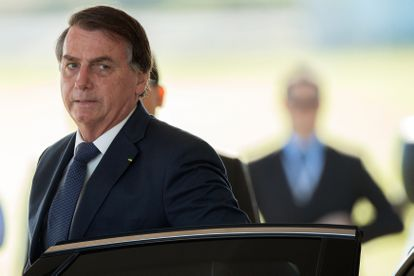 O presidente Jair Bolsonaro nesta sexta.