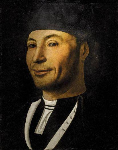 'Retrato de Marinheiro Desconhecido', de Antonello di Messina, 1465-1470, no Museu Mandralisca, Cefalù, Itália.