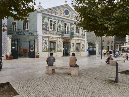 Largo do Intendente, no bairro da Mouraria, em Lisboa