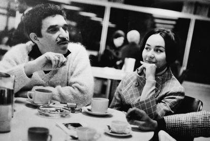 Mercedes Barcha Pardo e Gabriel García Márquez na Espanha, 1968.