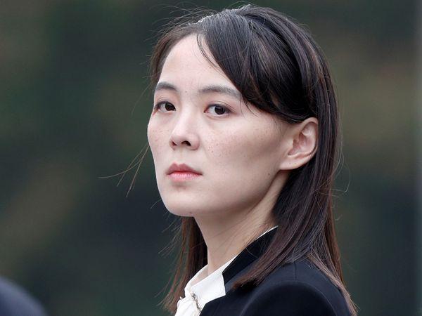 Kim Yo Jong, la hermana del líder de Corea del Norte Kim Jong Un, en Hanói, Vietnam, en marzo de 2019.REUTERS/Jorge Silva/Pool/File Photo