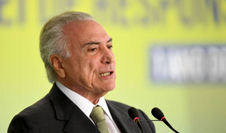 O presidente Michel Temer no último dia 29 em Brasília.