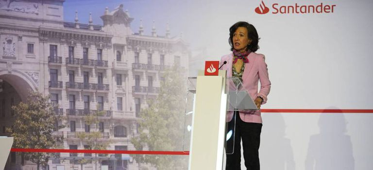 Ana Botín, presidenta do Banco Santander.