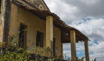 Antiga administração, onde era distribuído o alimento pelas janelas.