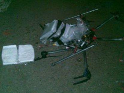 Drone com droga em Tijuana.