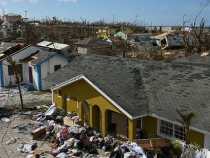 EL PAÍS entra na ilha Great Abaco, nas Bahamas, arrasada por ventos de até 300 quilômetros por hora neste fim de semana