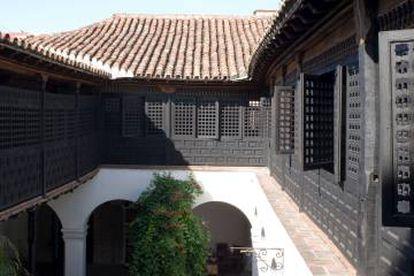 Pátio da Casa de Velázquez, hoje Museu do Ambiente Histórico, em Santiago de Cuba.