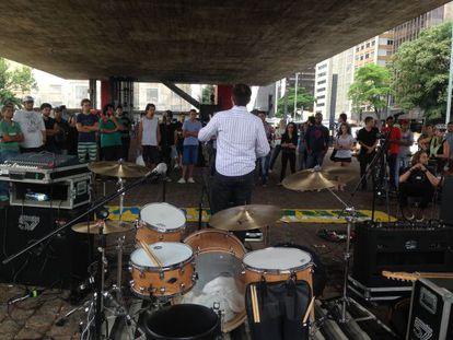 Aula Pública do Movimento Brasil Livre.