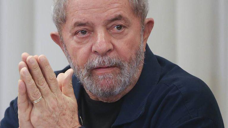 Lula em encontro do PT, em março de 2015