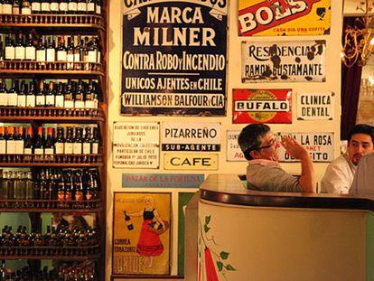 O Bar Liguria, restaurante de Marcelo Cicali, em Santiago.