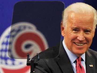 O vice-presidente dos EUA, Joe Biden, em universidade de Seul.