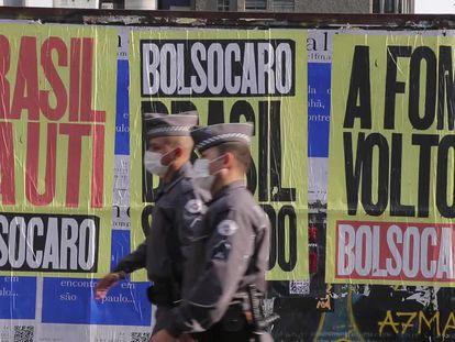 Os atos contra Bolsonaro na avenida Paulista