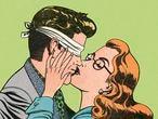 Blindfold kiss