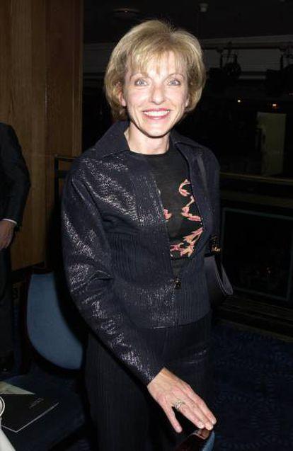 Mary Austin, numa de suas poucas aparições públicas, numa festa em Londres, em 2002.