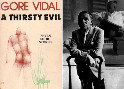 Gore Vidal escreveu Sede do mal (1956), uma série de relatos inspirados na vida de Denham Fouts. À direita, o escritor britânico Christopher Isherwood.