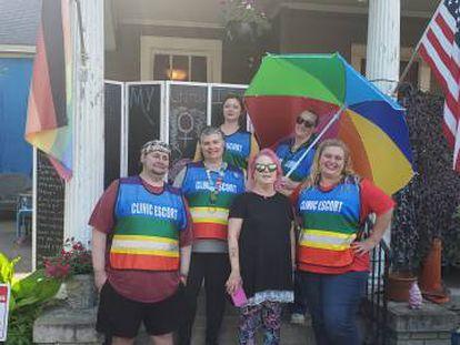 Grupo de voluntários da Power House em Montgomery.