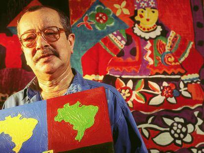 João Ubaldo Ribeiro, em uma imagem de arquivo.
