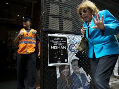 Entrada da Promotoria argentina.