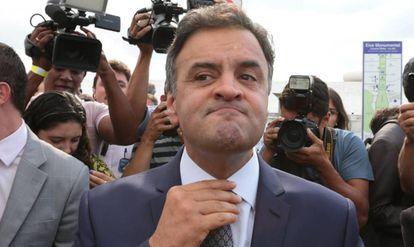 O senador Aécio Neves (PSDB-MG).