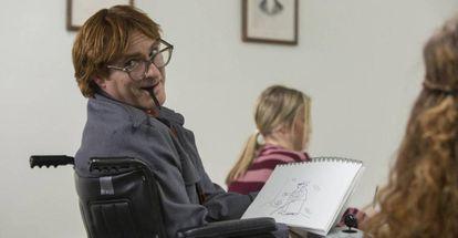 Joaquin Phoenix, em 'A Pé Ele Não Vai Longe'.