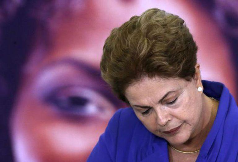 Dilma, durante evento no Palácio no dia 9 de março.