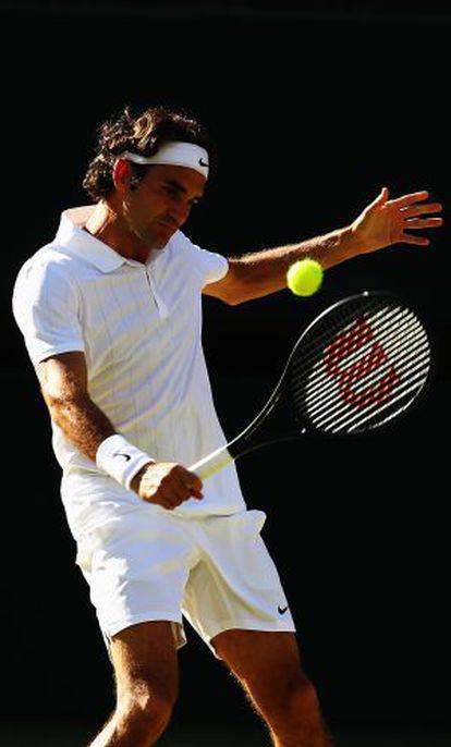Federer, na final com Djokovic