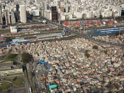 Depois de 80 anos, a cidade urbanizará o assentamento ilegal ao lado da região mais cara da capital