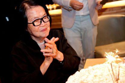 Em 2013, a artista Tomie Ohtake completou 100 anos.