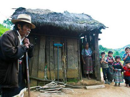 Família em Chimaltenango, Guatemala