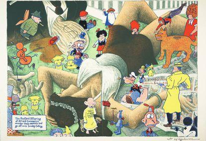 'Lead Pipe Sunday. The Bastard Offspring', de Art Spiegelman.
