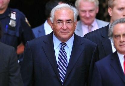 Dominique Strauss-Kahn, na corte criminal de Manhattan em 2011.