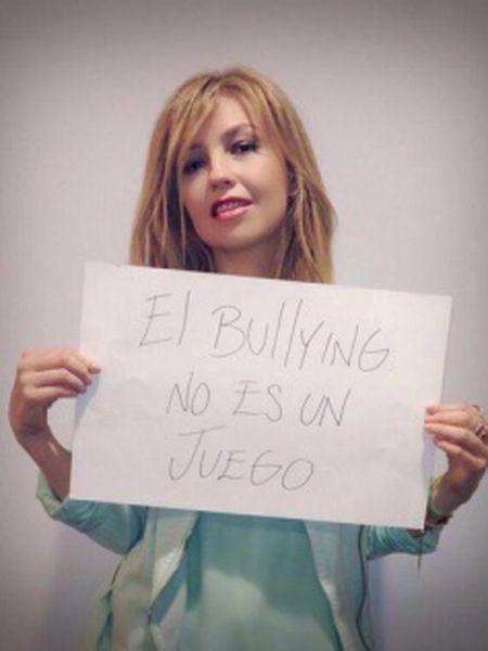 A cantora mexicana Thalía em uma imagem divulgada nas redes sociais.