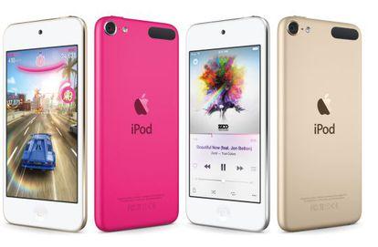 O novo iPod Touch recém apresentado.