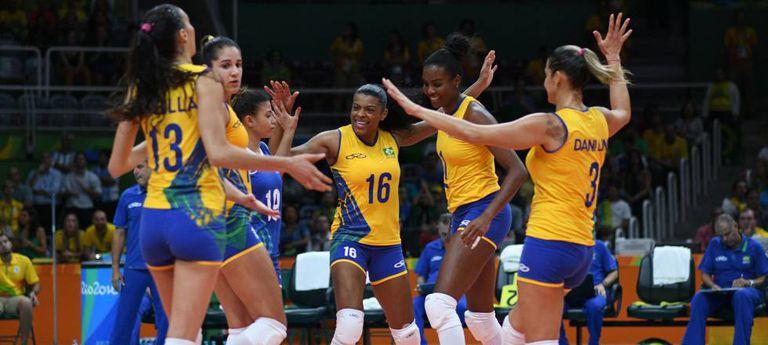 Brasil dominou a Argentina.