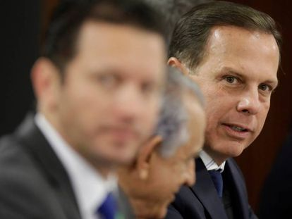 João Doria, em reunião no último dia 7 de março.