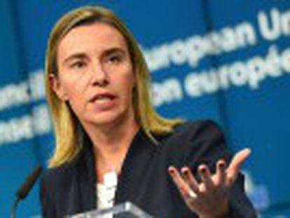 """Os 28 membros da União Europeia vão aplicar """"medidas adicionais"""" para defender criação do Estado palestino"""