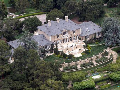 A casa de Oprah Winfrey em Montecito, Califórnia.